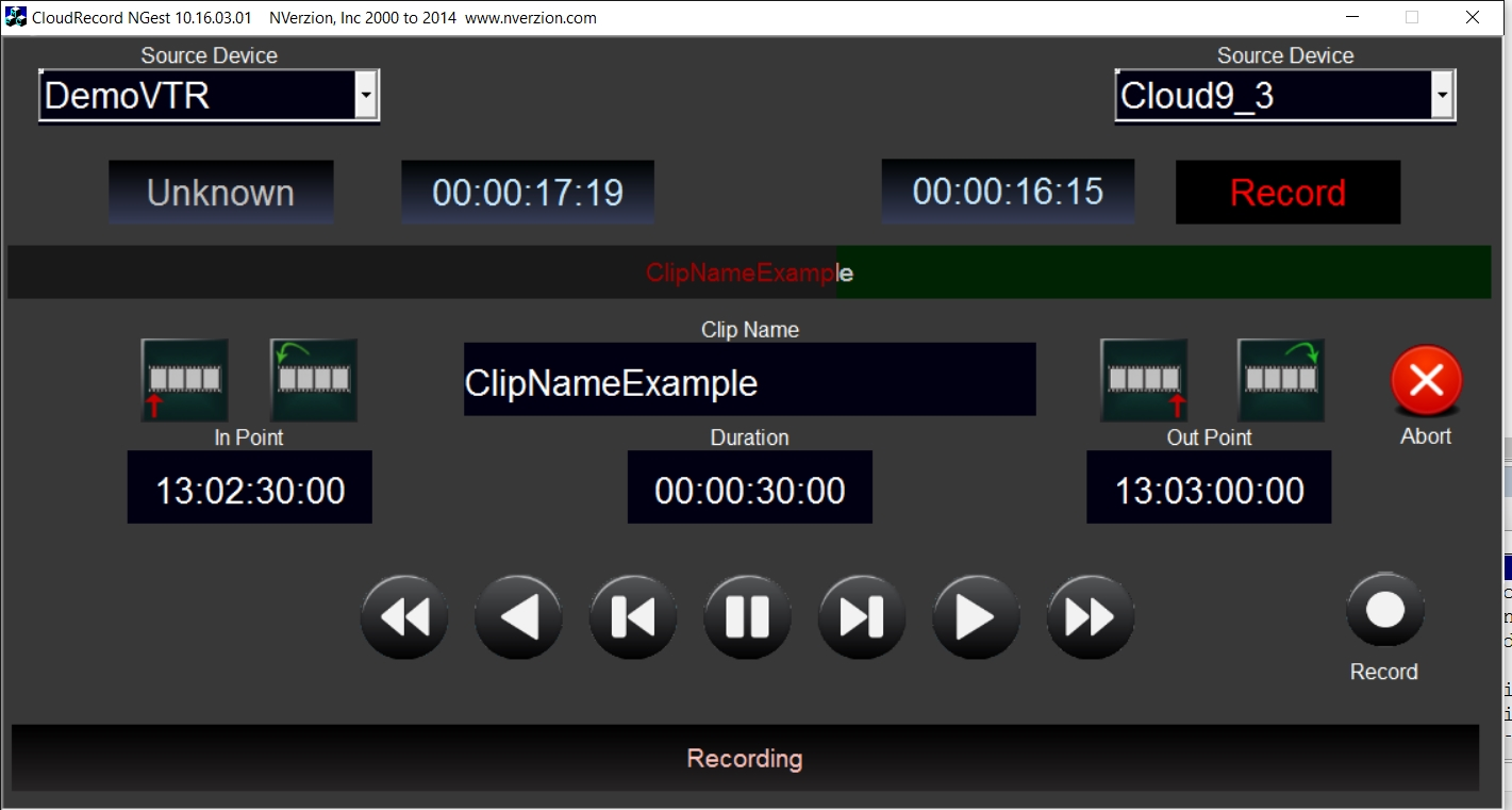 NFinity Broadcast Video Server | NVerzion